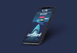 SurfShark op de iPhone XR