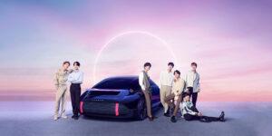 BTS met IONIQ bolide