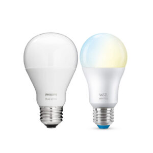 Philips Hue & Signify WiZ White E27 Lampen