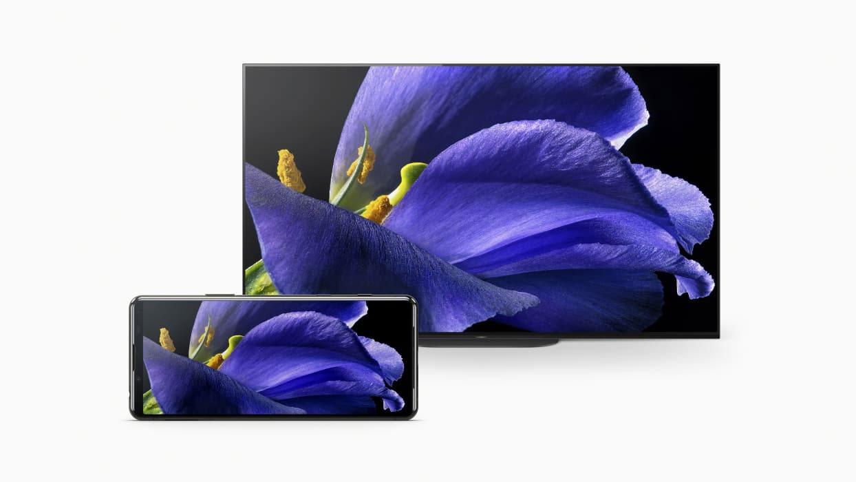 Sony Xperia 5 II met Bravia TV
