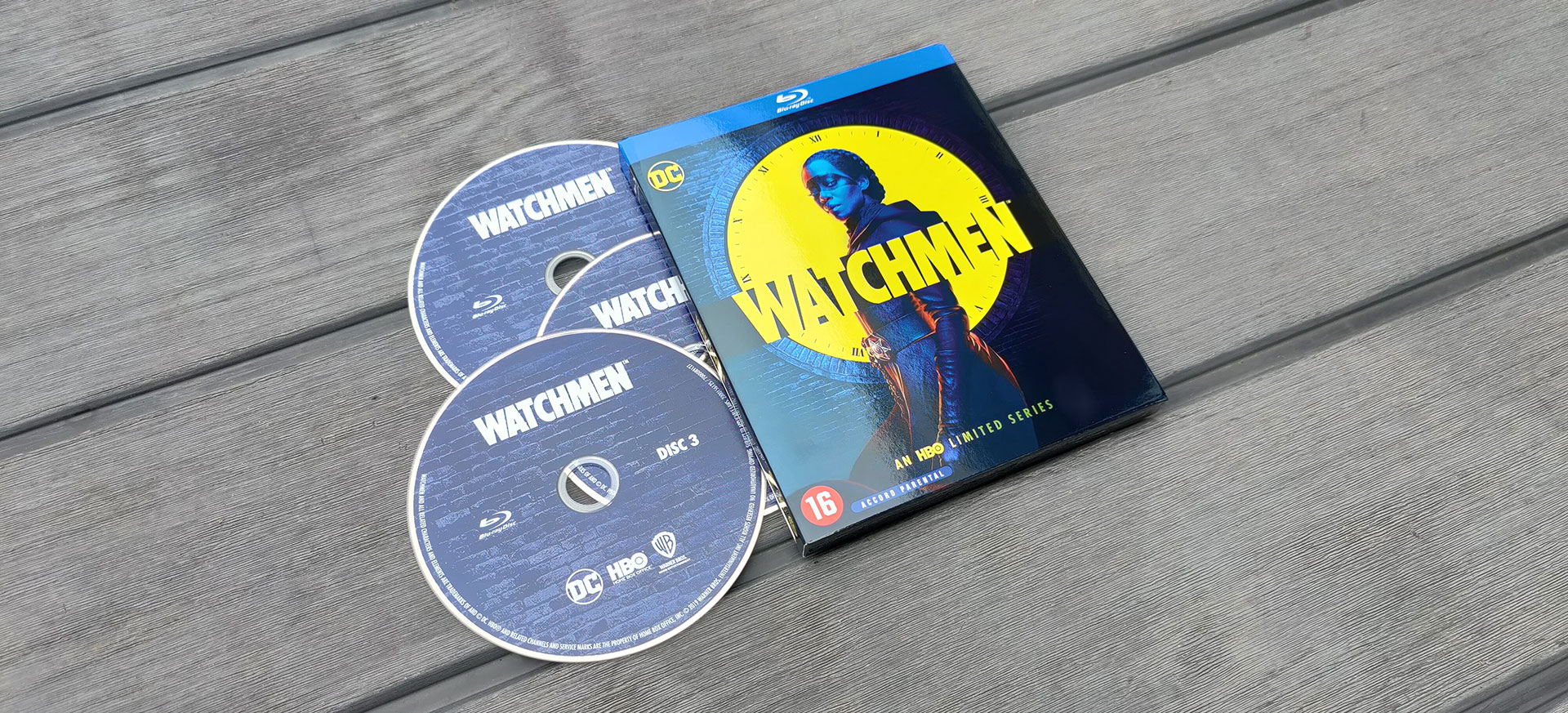 watchmen Seizoen 1 op Blu-Ray