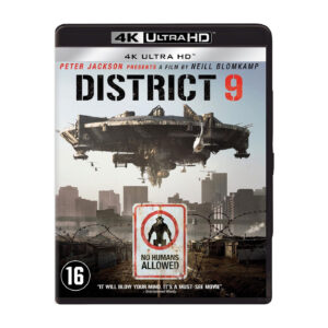 District 9 op 4K Blu-Ray