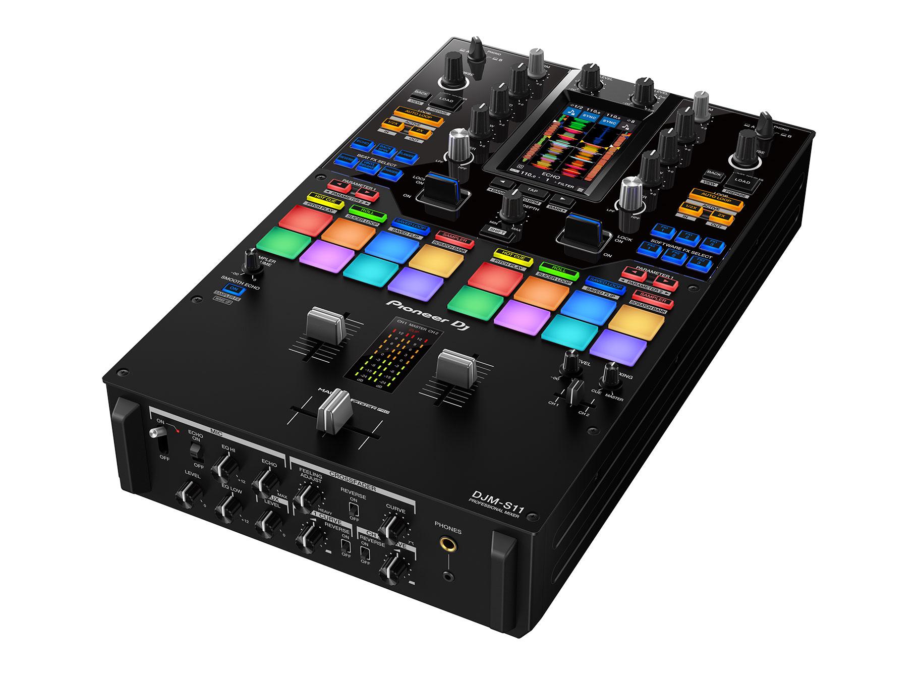 Pioneer DJM-S11 2-kanaals mixer