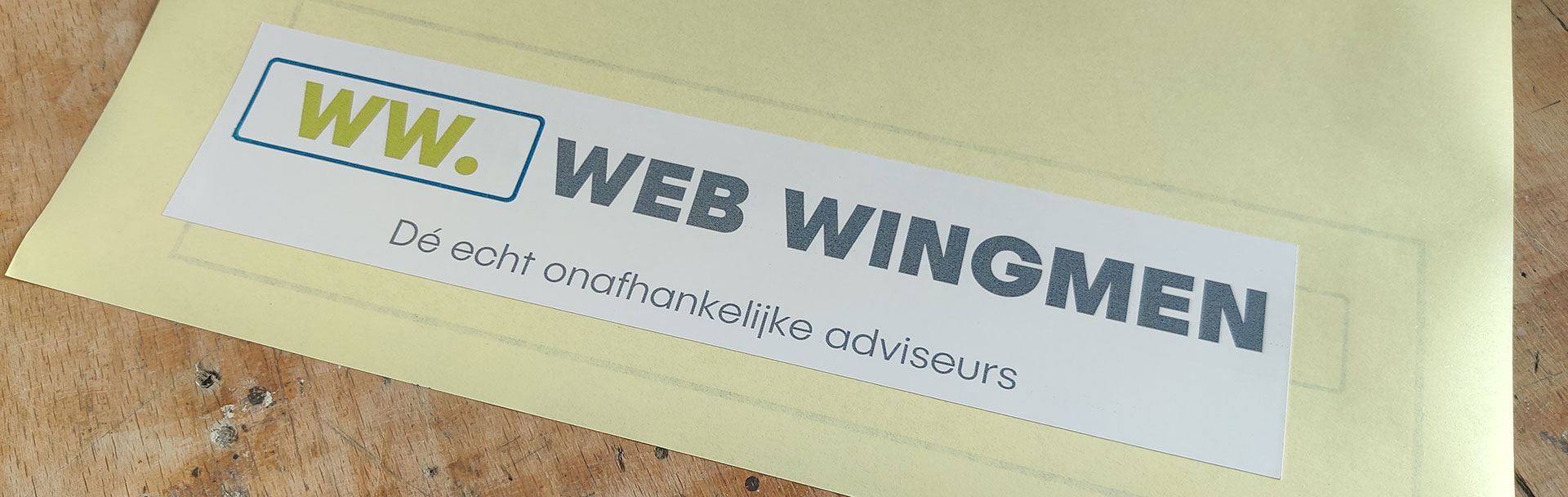 WEB WINGMEN sticker