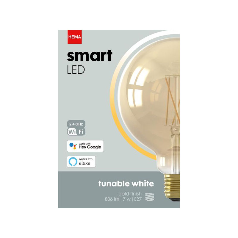 Verpakking HEMA Smart LED lamp