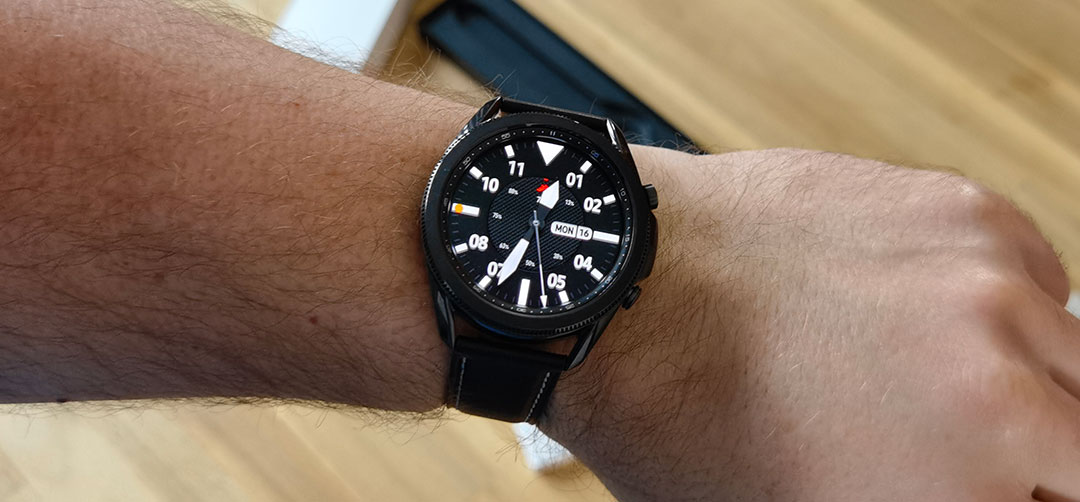 Verpakking Samsung Galaxy Watch3