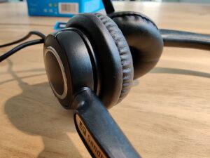 Sandberg USB Office Headset Pro Stereo Oorschelpen