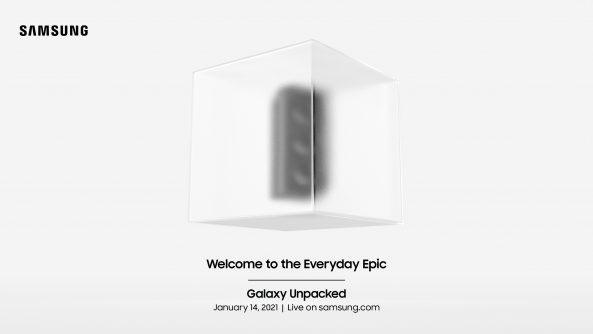 Samsung Unpacked 2021 Everyday Epic Uitnodiging