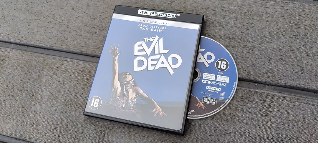 The Evil Dead op 4K Blu-Ray