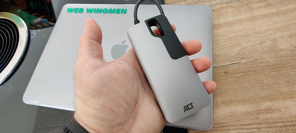 ACT USB-C 4K Multiport Dock AC7043