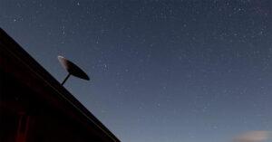 SpaceX Starlink Schotel