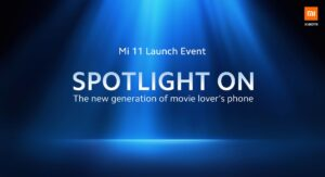 Xiaomi Mi 11 Launch Event