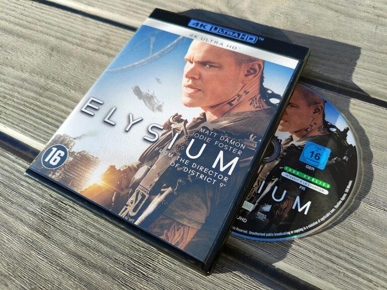 Elysium op 4K Blu-Ray